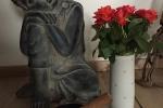 Buddha und Klangschale